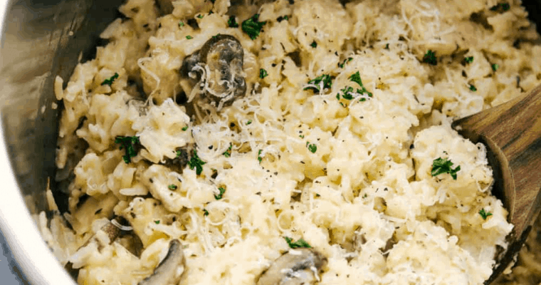 Instant Pot Creamy Parmesan Chicken And Rice