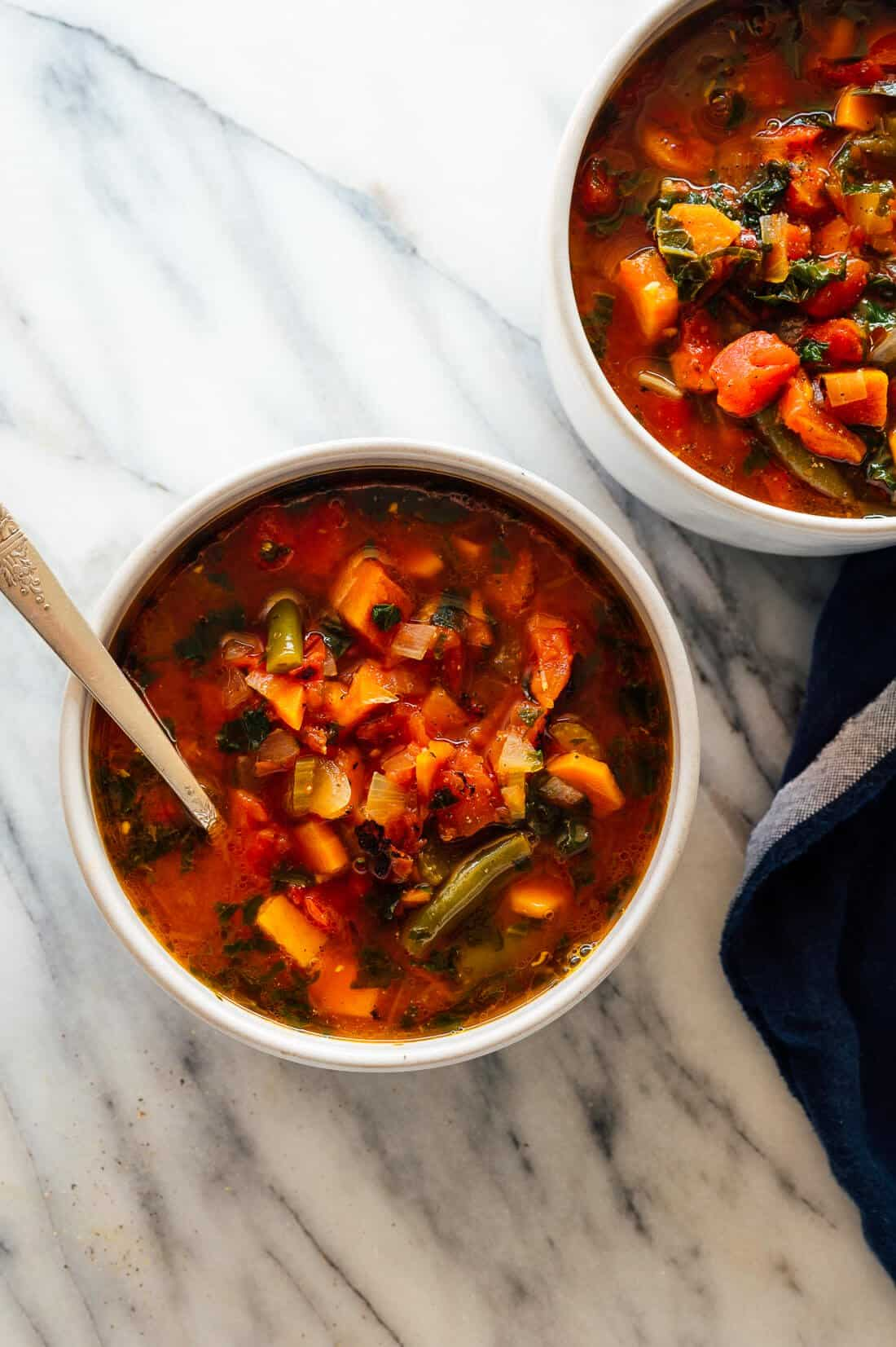 Seriously Good Vegetable Soup | Cook & Hook