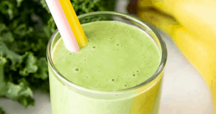 Kale Smoothie Recipe   Cook And Hook